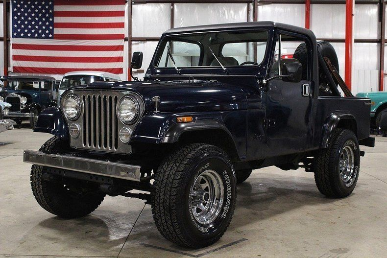 1984 Jeep CJ   Scrambler