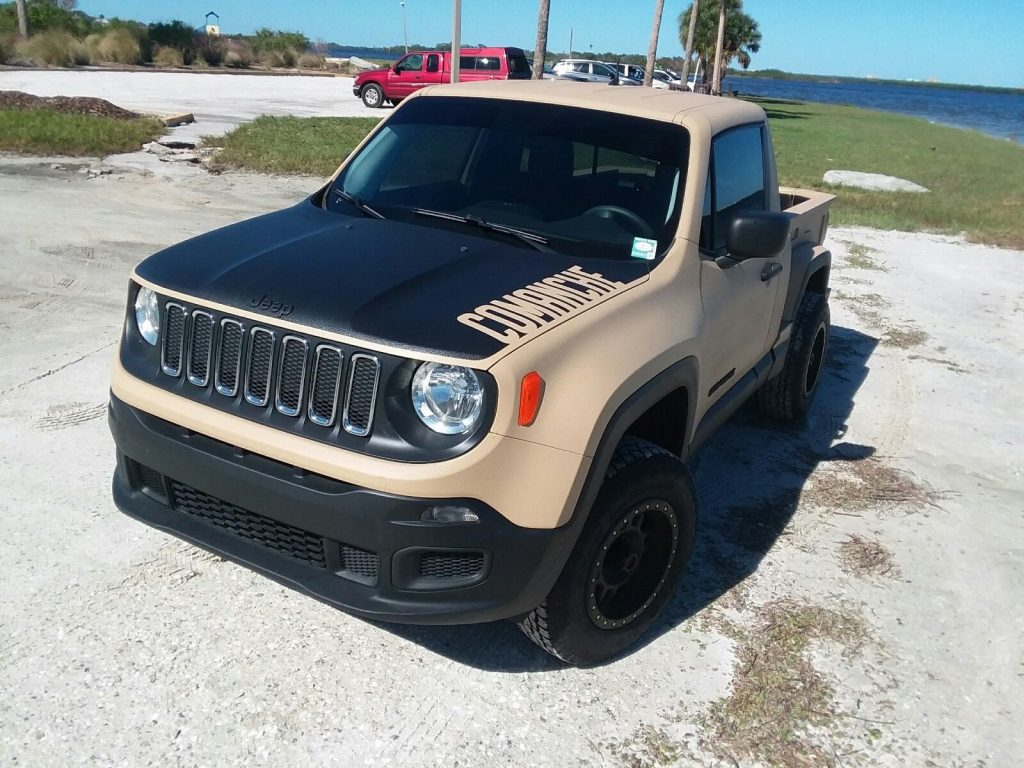 2015 Jeep Renegade COMANCHE 4×4