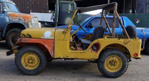 Willys Jeep M38A1 na prodej