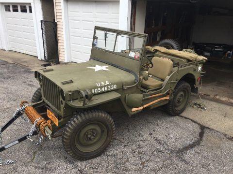 1944 Jeep Willys Ford GPW na prodej