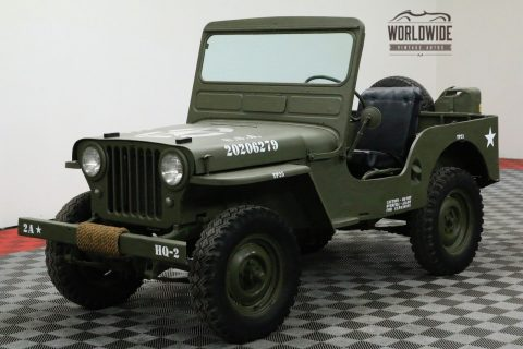 1948 Jeep Willys CJ2A Restored 4X4 Collector MILITARY na prodej