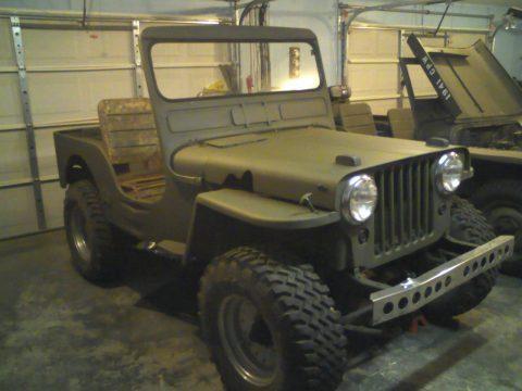 1950 Jeep Willys 439 na prodej