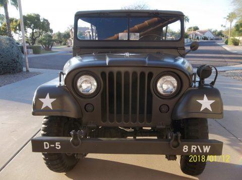 1952 Willys M38a1 Military Jeep na prodej