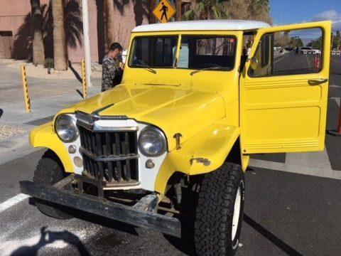 1956 Jeep Willys na prodej