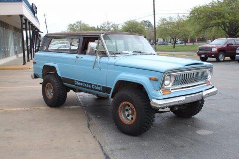 1975 Jeep Cherokee Chief na prodej