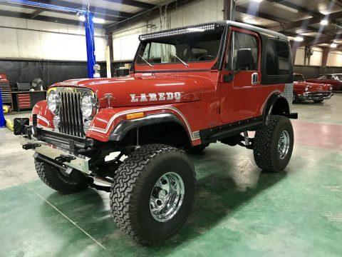 1984 Jeep CJ Laredo 4WD na prodej