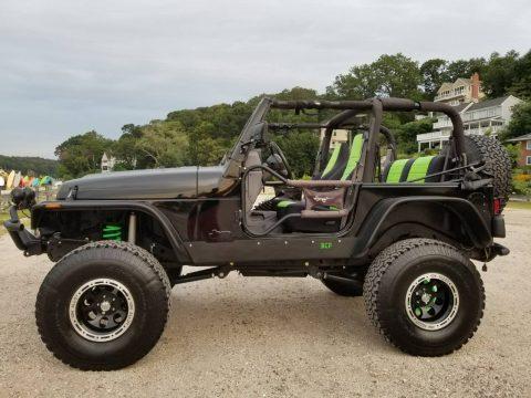 1998 Jeep Wrangler na prodej