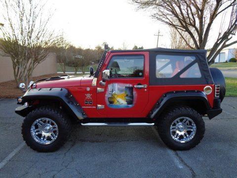 2007 Jeep Wrangler X na prodej