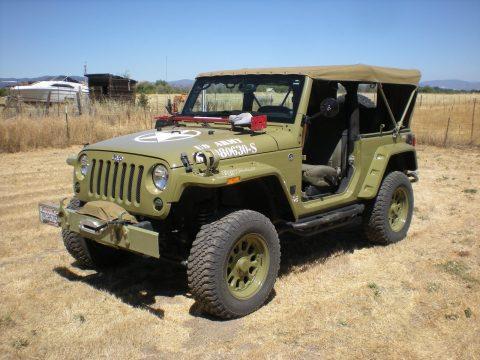 2013 Jeep Wrangler Rubicon Armytribute na prodej
