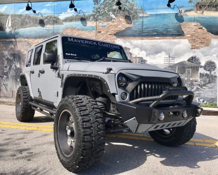 2013 Jeep Wrangler Unlimited Sport Utility 4 Door na prodej