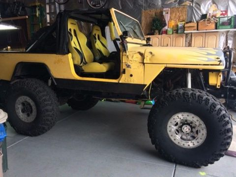 Jeep CJ8 Scrambler na prodej