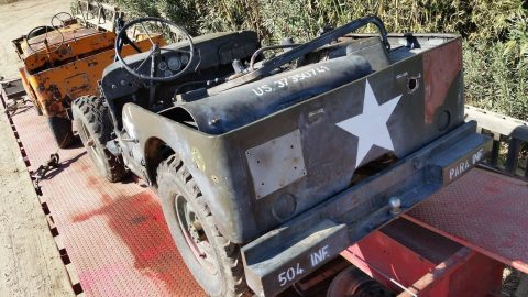 1942 Willys MB U.S. Army Truck, 1/4 ton, 4×4 na prodej