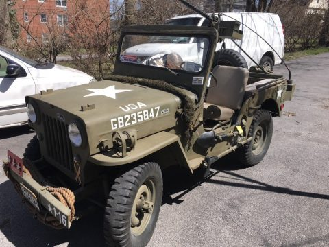 1953 jeep Willy's CJ-3B nice condition 4×4 na prodej
