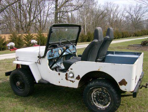 1963 Jeep CJ3B na prodej