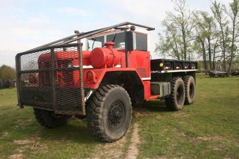 1970 Kaiser Jeep M818 5TON Military 6X6 Cargo Truck na prodej