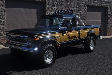 1977 Jeep J10 Honcho LEVIS na prodej