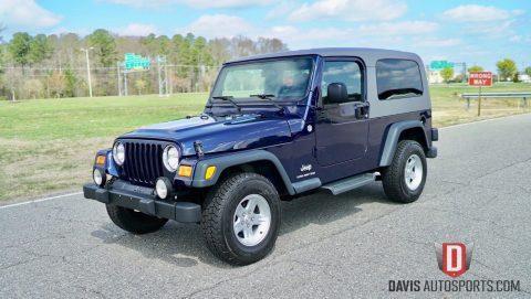 2006 Jeep Wrangler Unlimited LJ 2 Door na prodej