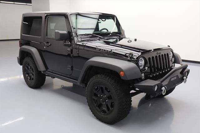 2015 Jeep Wrangler 4×4 Willys Wheeler Edition 2dr