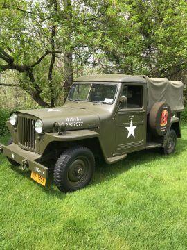 1948 Jeep Willys Truck Military na prodej