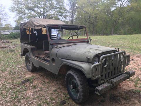1953 Jeep Willy's M 170 Ambulance na prodej