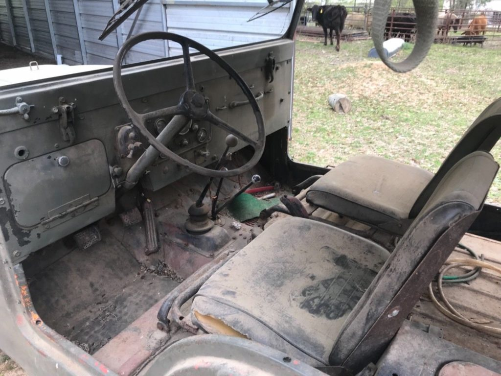 1953 Jeep Willy's M 170 Ambulance