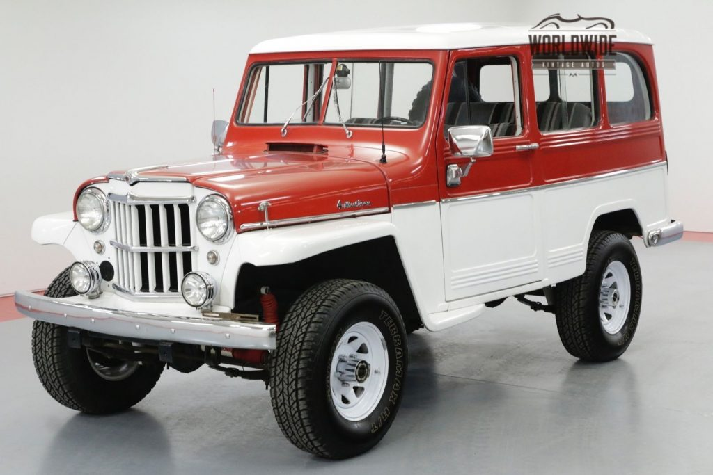 1961 Jeep Willys Wagon Restored RARE Wagon 4X4