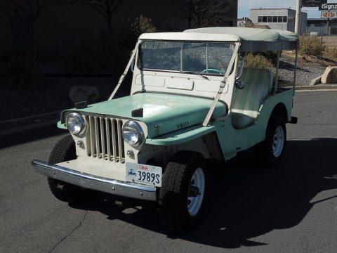 1962 Jeep Willys  DJ-3A na prodej