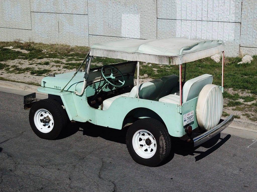 1962 Jeep Willys  DJ-3A