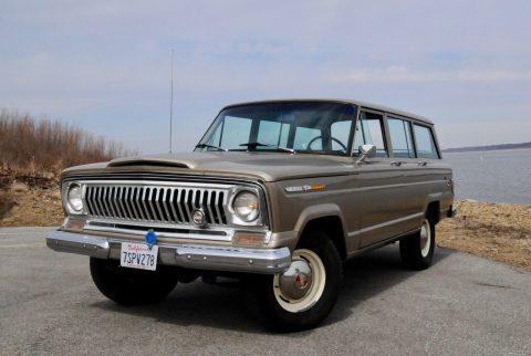 1969 Jeep Wagoneer V8 na prodej