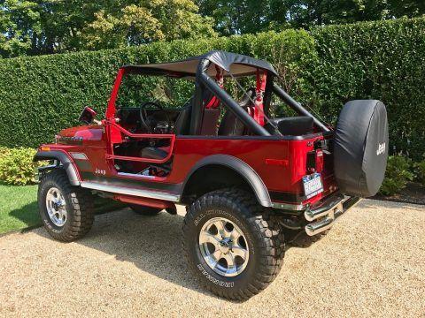 1980 Jeep CJ  340 V8 na prodej