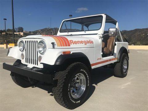 1986 Jeep CJ7 RENEGADE na prodej