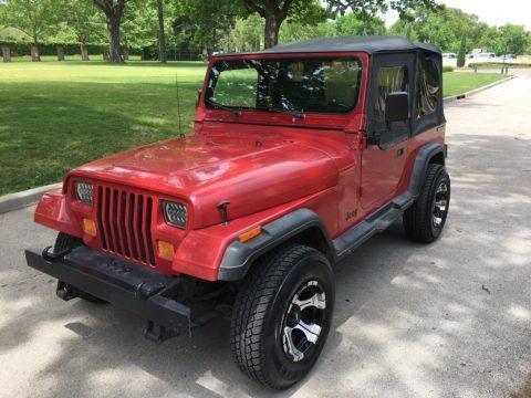 1987 Jeep Wrangler na prodej