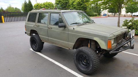 1991 Jeep Cherokee XJ na prodej