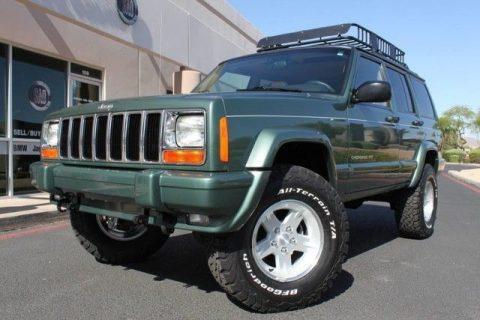 2000 Jeep Cherokee Limited na prodej