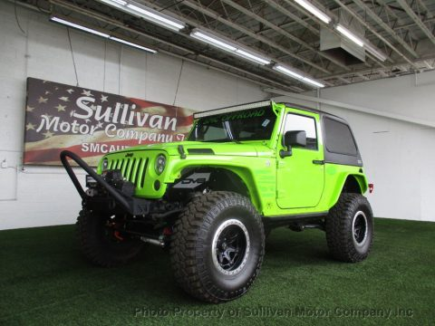2013 Jeep Wrangler 4WD 2dr Sport na prodej