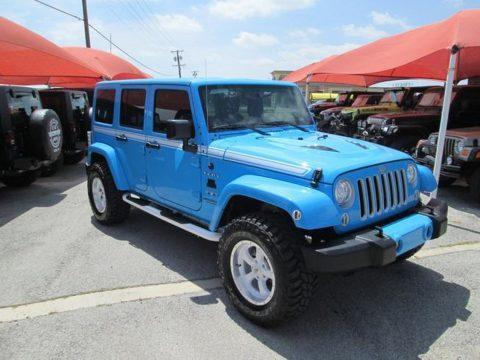 2017 Jeep Wrangler Sahara na prodej