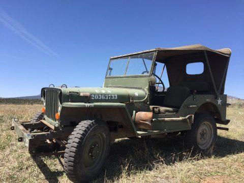 1944 Jeep Willys MB Diesel na prodej