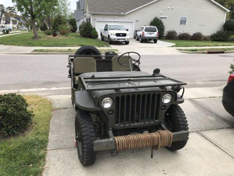 1945 Jeep Willys MB na prodej