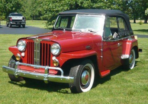 1948 Jeep Willys 439 Jeepster na prodej
