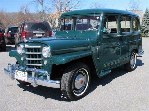 1950 Willys Jeep Wagon na prodej