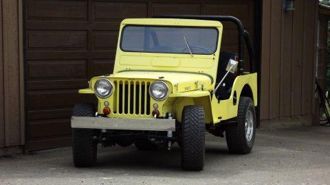 1951 Jeep Willys CJ 3A na prodej