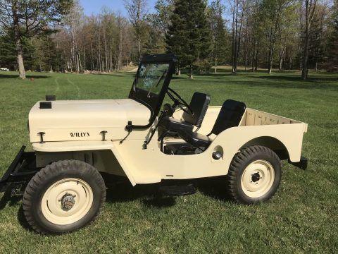 1955 Jeep CJ na prodej