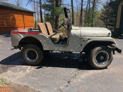 1960 Jeep Willys na prodej