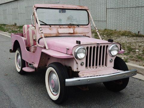 1961 Jeep Willys Gala na prodej