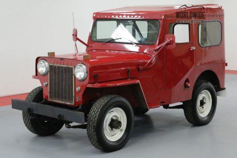 1961 Willys CJ3B 4 CYL Manual 4X4 na prodej