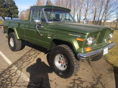 1970 Jeep J2000 Pickup Complete Restoration na prodej