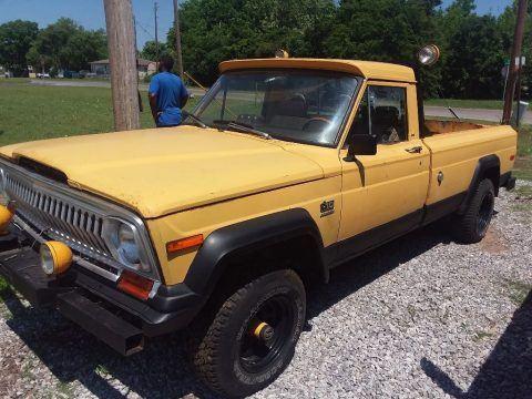 1975 Jeep Comanche j10 na prodej