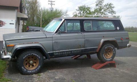 1978 Jeep Cherokee Chief na prodej