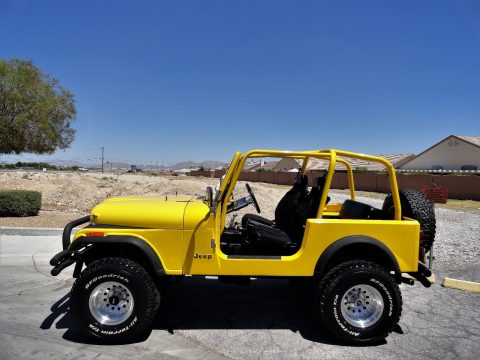 1986 Jeep CJ Classic JEEP CJ7   Restored   FUEL INJECTED na prodej