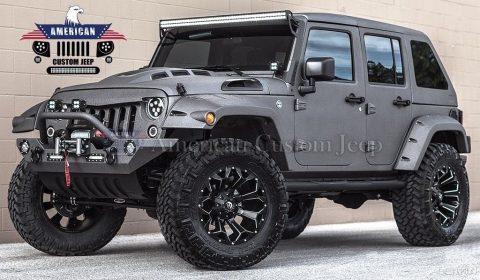 2018 Jeep Wrangler Custom Unlimited Sport Utility 4 Door na prodej